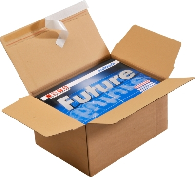 NEU! Versandverpackung mit Automatikboden